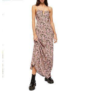 NWT Free People Bon Voyage Maxi Dress Pink XL